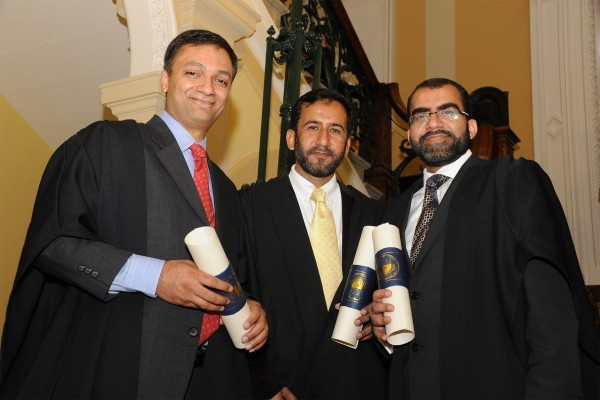 Royal College of Physicians of Ireland Conferring Ceremony of New Members Dr. Khawaja Zahid, Dr. Abdul Manan  and Dr.  Kafil  Shadani who received their Membership of the College.