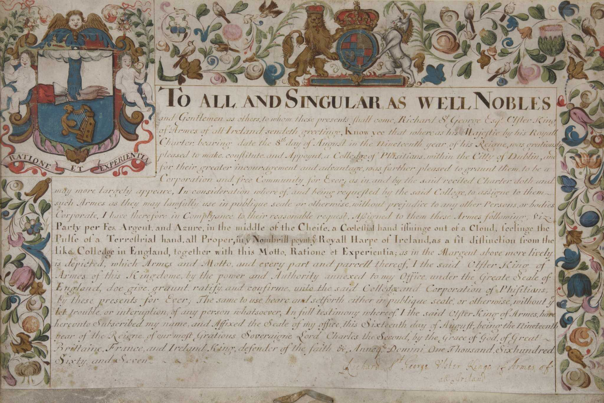 Grant of arms cropped