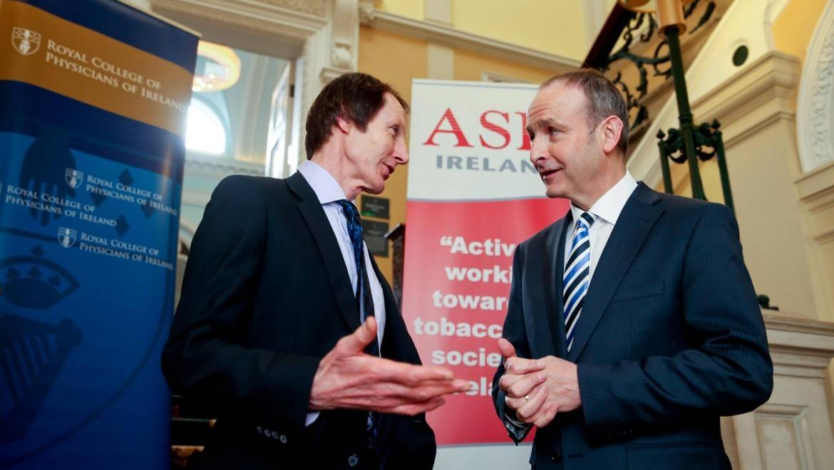 Dr Pat Doorley meets with Mr Micheál Martin