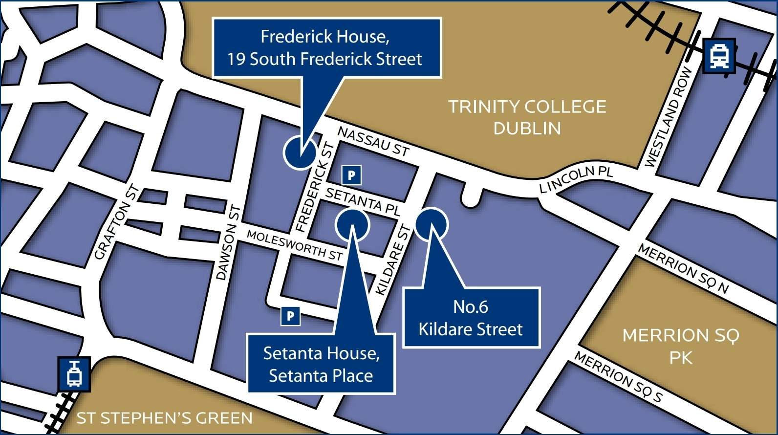 Map of college location