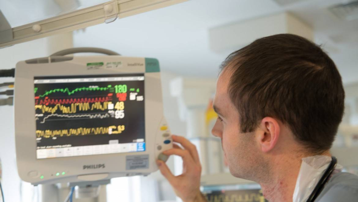 Doctor in neonatal unit
