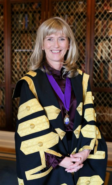 NO REPRO FEE 17/10/2017 Professor Mary Horgan becomes first woman President of the Royal College of Physicians of Ireland. PHOTO: Mark Stedman